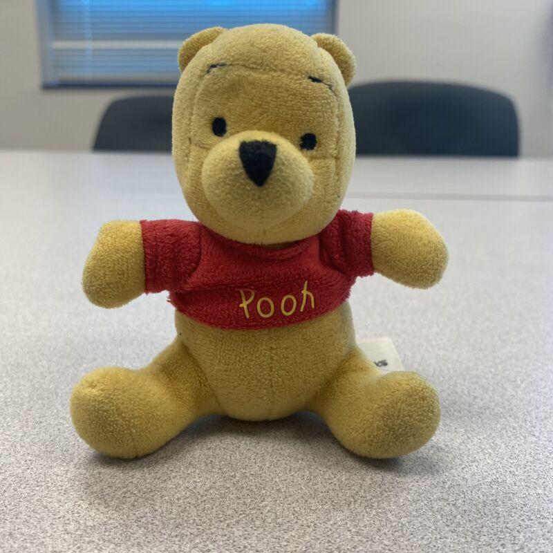 Disney Parks Winnie The Pooh Plush Keychain