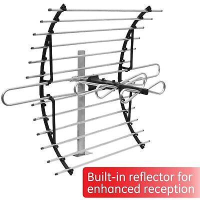 [2020 Version] GE Attic Mount TV Antenna, Long Range Indoor Directional Anten...