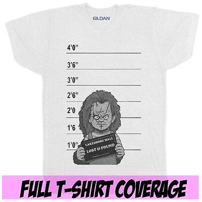 CHUCKY CHILDS PLAY RETRO 90S CLASSIC HALLOWEEN HORROR MOVIE FILM BLACK T SHIRT](90s Kids Halloween Movies)