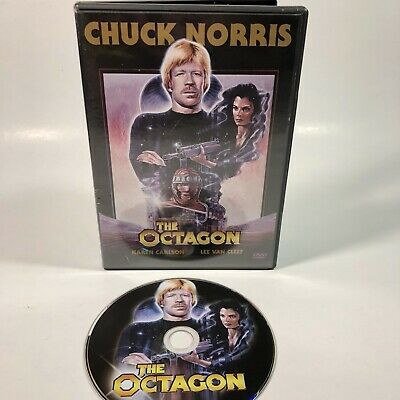 The Octagon DVD Chuck Norris Dystopian Future Fighting Movie