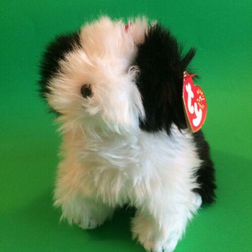 TY Beanie Babies Poofie plush dog