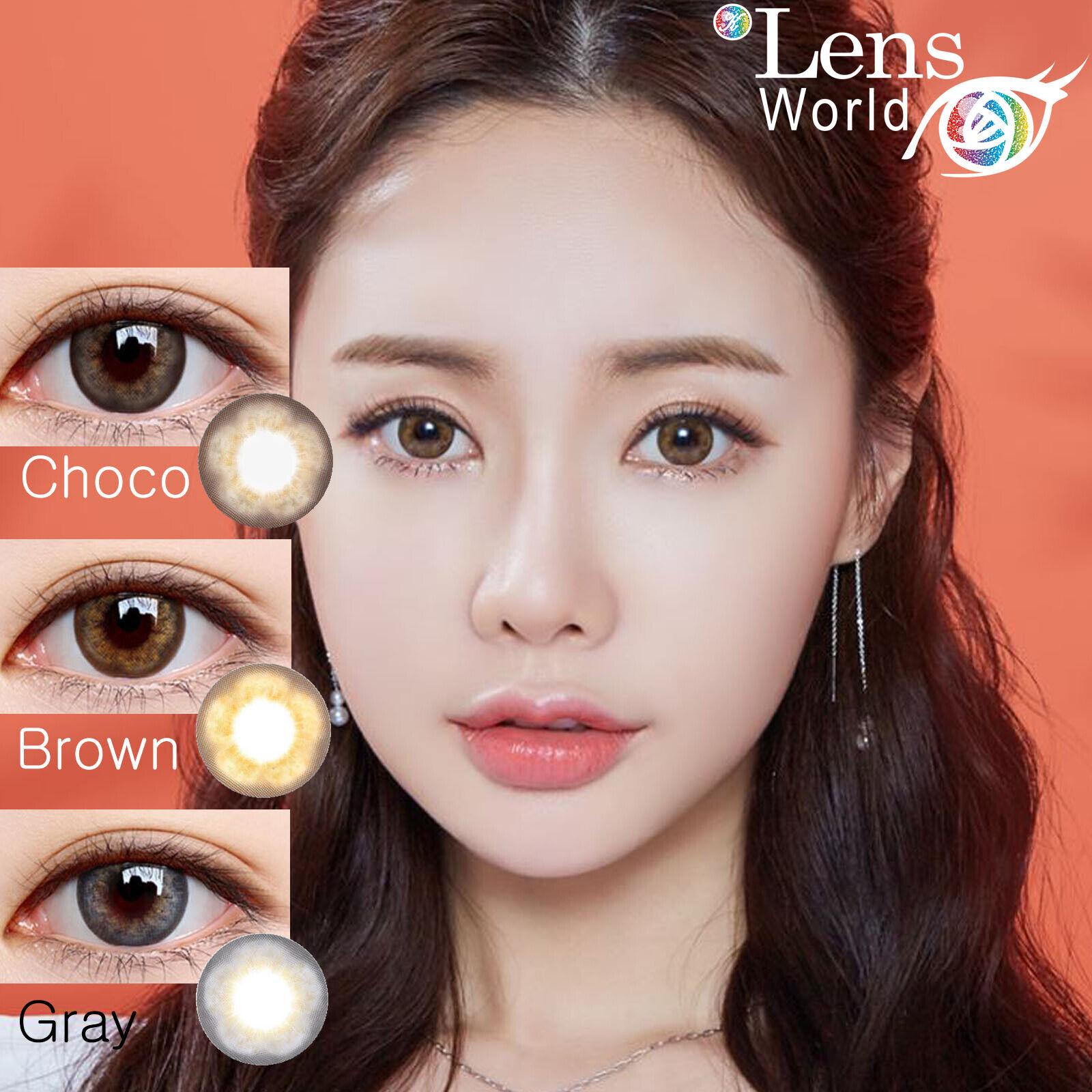 Big Size Bloom Gray-Farbige Kontaktlinsen-Stärke-Korea Color Contact Lenses-14.5