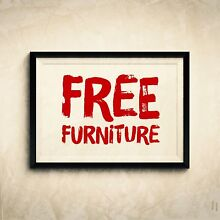 FREE FURNITURE!!!!! Granville Parramatta Area Preview