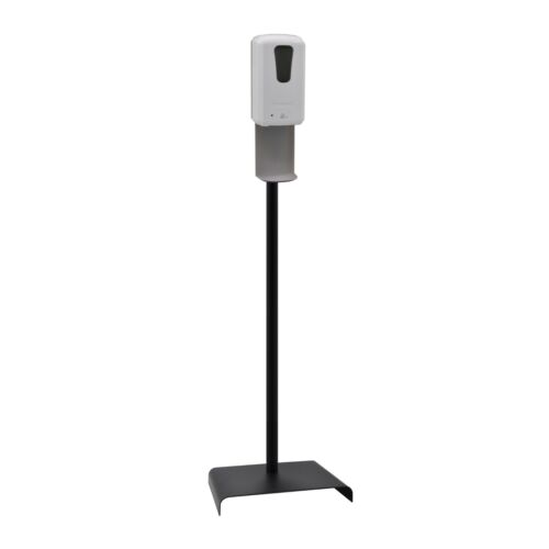 Hands Free Sanitizer & Soap Dispenser w/Floor Stand (Battery /Electric) By UZO1