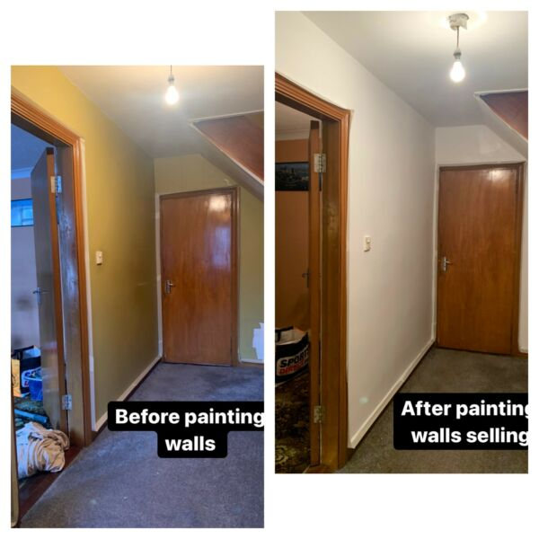 Painting walls & selling