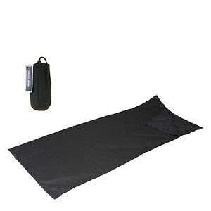 Hüttenschlafsack Schlafsack Inlet 190x75cm Sommerschlafsack Decke Inlay + Tasche