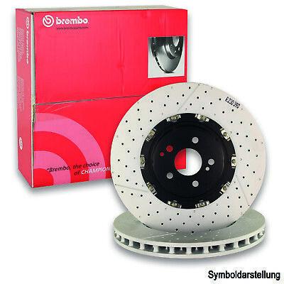 2x BREMBO Bremsscheibe Bremsscheiben Satz Bremsen COATED DISC LINE