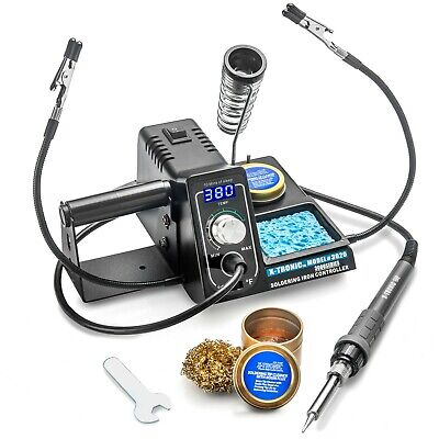 X-tronic 3020-xts 75 Watt Digital Led Display Soldering Iron Station - Esd Safe