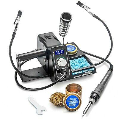X-tronic 3020-xts 75 Watt Digital Led Display Soldering Iron Station - Esd Safe