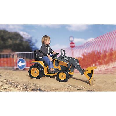 Peg Perego John Deere Kids 12 Volt Ride-On Toy Construction Loader