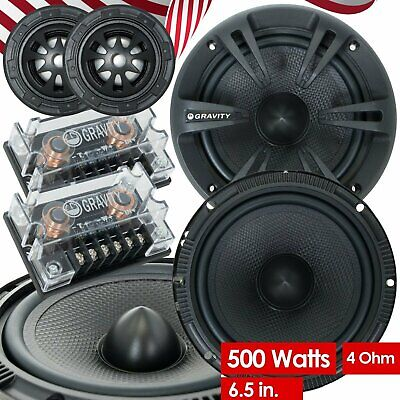 Bagong Gravity 600C 6.5-Inch 2-Way Car Audio Component Speaker Speaker 6-1 / 2 Inches