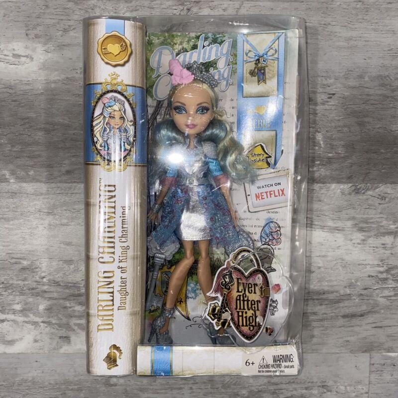 Ever After High Darling Charming Mattel NIB Original Release Version, See Desc *