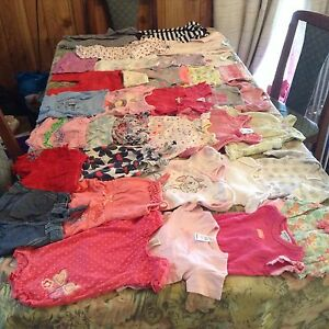 BABY GIRL CLOTHING - Size 000 (0 - 3 months): 37 items #Lot 11 Trinity Beach Cairns City Preview