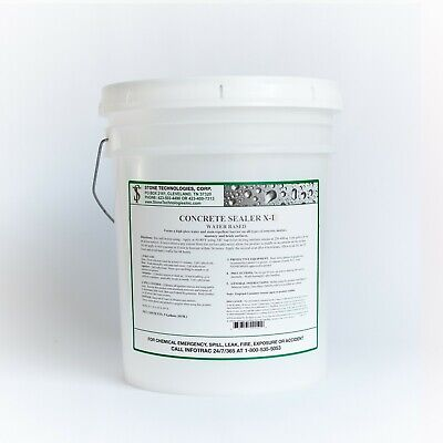 Concrete Sealer X-1 Stops Hydrostatic Water Pressure In Basements 5 Gallons