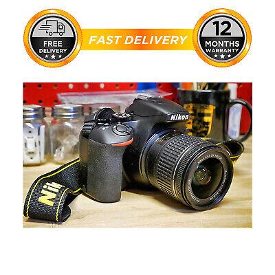 Nikon D3500 Digital SLR Camera + AF-P 18-55mm f/3.5-5.6G VR Lens