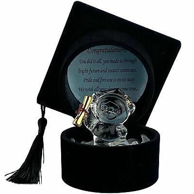Black Hat Graduation Gifts for University School College Present Keepsake (Presents For College Graduates)