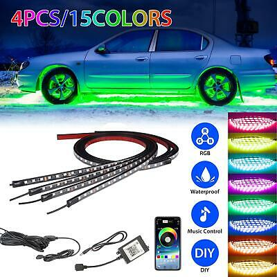 RGB Dreamcolor led Car underglow lights music Bluetooth APP remote control strip
