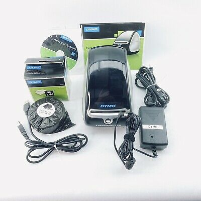 Dymo Labelwriter 450 Label Maker Set With Cords Extra Label Rolls