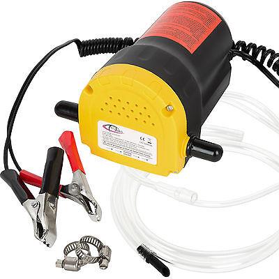 Bomba extractora de aceite eléctrica para coche 12V 60W cambio diesel fluídos...