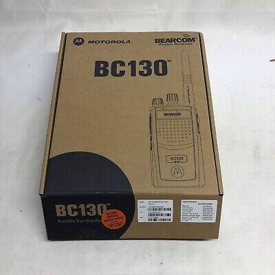 Bearcom Bc130 Aah84rcj8aa2an Portable Radio W All Accessories