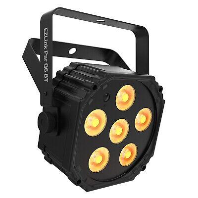Chauvet DJ EZ Link Par Q6 BT Wireless Quad-Color Par Light w Built-In Bluetooth