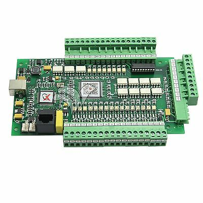 Cnc 3 Axis Usbcnc Mach3 Stepper Motor Controller Motion Breakout Board Adapter