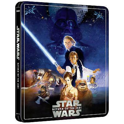 Star Wars Episode V1 Return Of The Jedi 4K Steelbook 3 Disc Edition OSS BNIB