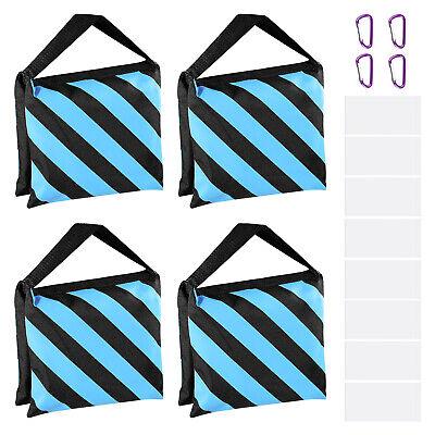 Neewer 4-Pack Photography Sandbag Sand Bags Saddlebag Design 4 Weight Bags