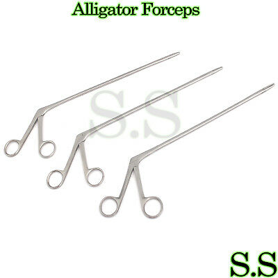 3 Alligator Forceps 10 Surgical Veterinary Instruments