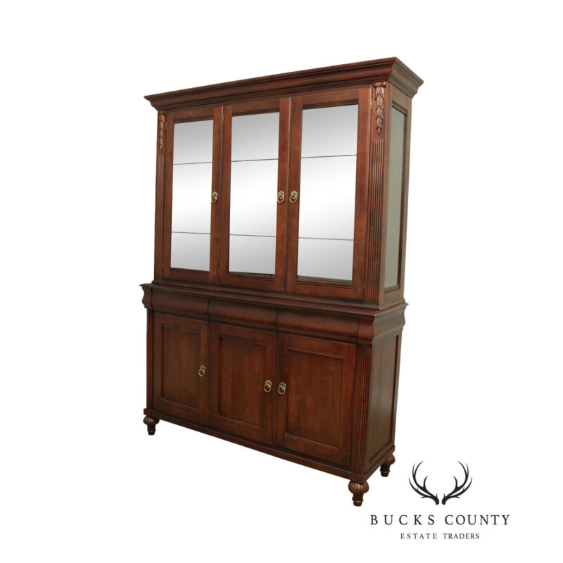 Ethan Allen British Classics Collection China Cabinet