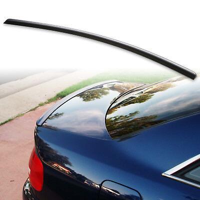 - For 96-01 Audi A4 S4 B5 Sedan Rear Trunk Lip Spoiler Wing Unpainted Matte Black