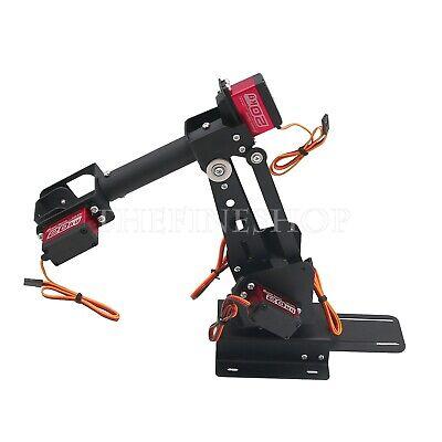 Assembled 6dof Robot Arm Clamp Set Educational Diy Robotic Kit With Large Torque