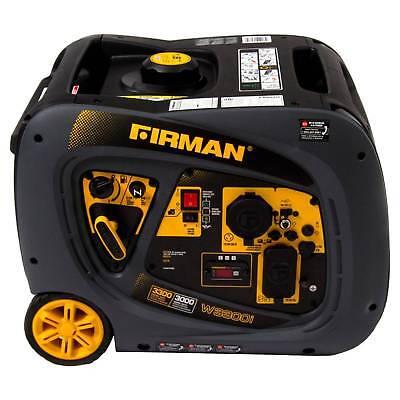 30003300w Portable Gas Inverter-non-carb Compliant - Black - Firman Power
