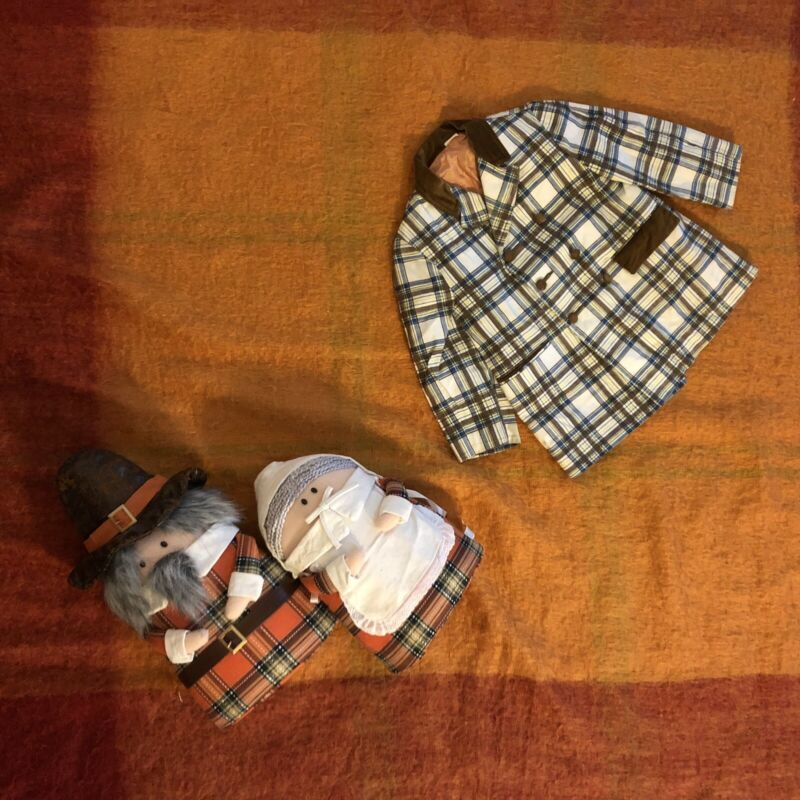 vintage Plaid Toddler Jacket