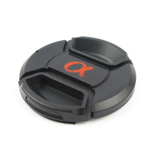 New 55 mm Lens Cap For Sony Alpha DSLR Dust Safety Snap-On Front Cover LC-55