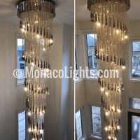 Chandelier & Light Fixture Installations | Call or Text|