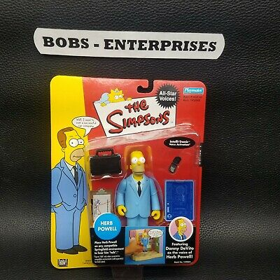 Simpsons All Star Voices 1 Herb Powell Action Figure sim-34