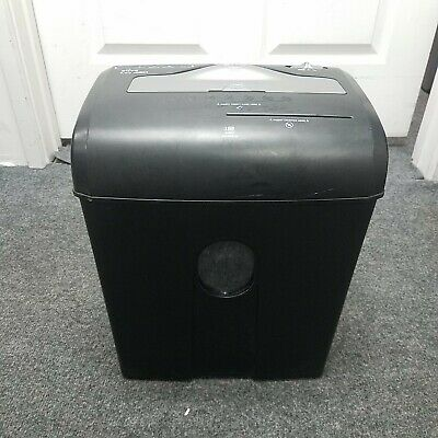 Ativa Md 460 Micro-cut Paper Shredder Cd Credit Card Shredder Used