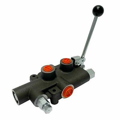 1 Spool 21 Gpm Hydraulic Log Splitter Control Valve 4300 Psi Detent Release New