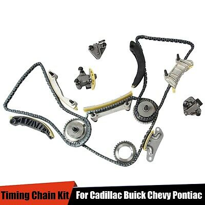 For 07 15 36L 30L Cadillac Buick Chevy Saturn Pontiac DOHC Timing Chain Kit