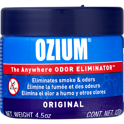 Ozium Smoke & Odors Eliminator Gel. Home, Office and Car Air