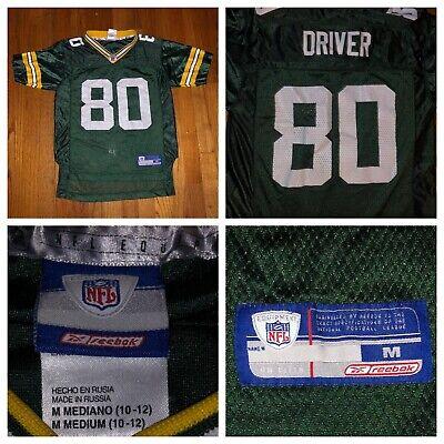 Green Bay Packers Donald Driver (Reebok Donald Driver #80 Green Bay Packers Boys Green Jersey Size Medium (10-12))