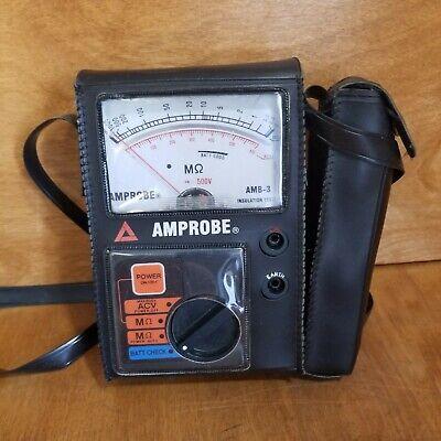 Amprobe Amb-3 Insulation Tester