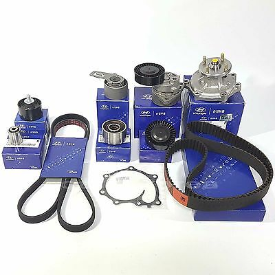 OEM Diesel Timing Belt KIT With Water Pump HYUNDAI TERRACAN 2.9L Diesel : 04-06