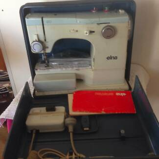 Elna Sewing machine Swiss precission & quality.