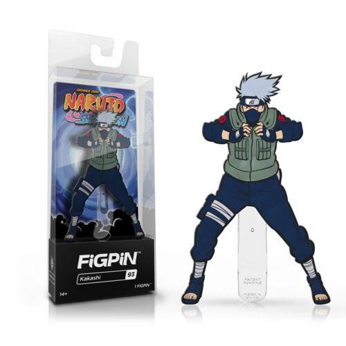 Figpin Naruto Shippuden Kakashi Collectible Pin #93 NEW