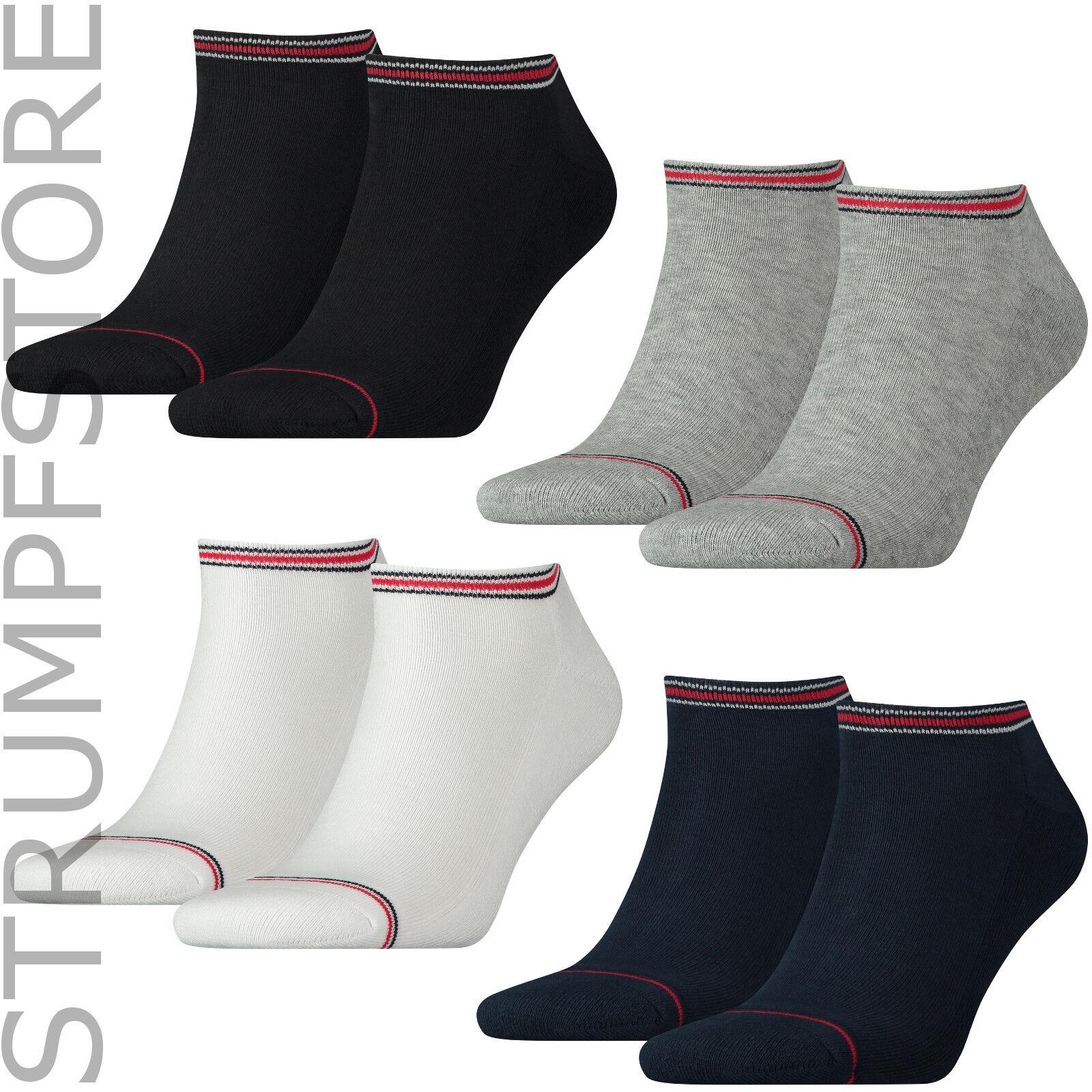Tommy Hilfiger Sneaker Socken MEN Frotteesohle Plüschsohle 2Paar 372022001