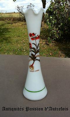B20121138 - Petit vase soliflore en opaline - Très bon état