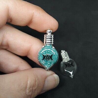 10 x Tibetan Silver Charm Pendants  Wicca Pagan Baby Alice Sea