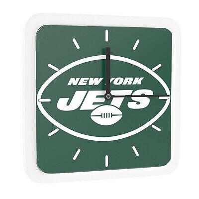 Nfl New York Jets Home Office Room Decor Wall Desk Clock Magnet 6x6